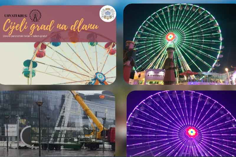 Ferris wheel to open in Podgorica
