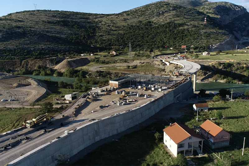 The construction time of the new highway will be extended
