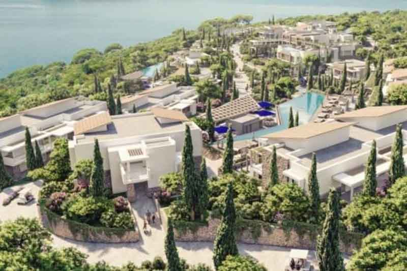 Tenth Planet is building a resort on Lustica worth 10 million euros